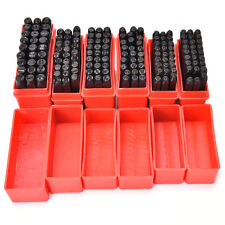 Steel Punch Stamp Die Set Metal 27pcs Stamps Letters Alphabet Craft Tools ex