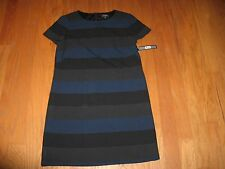 Tahari ASL Striped Lined Sheath Dress for woman Size 10 NWT $134