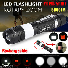5000LM G700 X800 Tactical Zoomable XML T6 LED Military Flashlight Torch Lamp Lot