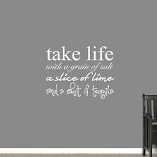 Take Life With Grain Of Salt Wall Decals