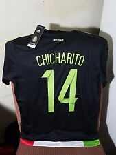 MEXICO MENS BLACK SOCCER JERSEY
