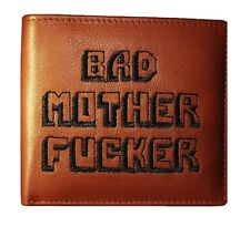 BAD MOTHER FUCKER wallet as seen in the movies - Embroidered 100% real leather