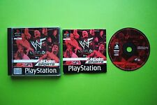 WWF Attitude PS1 PAL Game + Works On PS2 & PS3