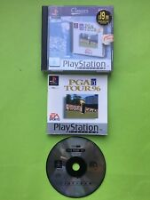 PGA Tour 96 + Tiger Woods 2000 + European Tour Golf PS1 PAL Game Bundle Job Lot