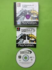 Formula One 2000 F1 Sony Playstation PS1 PAL Game + Works On PS2 & PS3