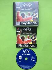 UEFA Striker Sony Playstation PS1 PS2 PS3 PAL Game + Disc Only Option