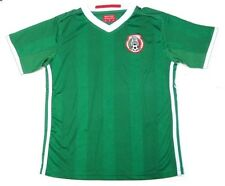 Mexico Soccer Futbol Green Home Jersey Shirt Patch Logo Youth 4,8,10,12,14