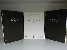 Casanova, Collateral, The Chronicles Of Narnia - 3 Screenplays! (ID:610)