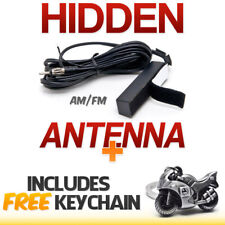 Hidden Antenna AM FM Radio Stereo - Cars, Trucks, Motorcycle+Sportbike Keychain