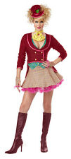 Adult Crazy Mad Hatter Sexy Womens Halloween Costume