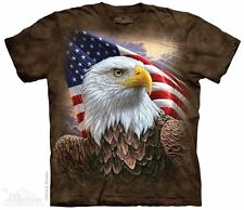 Independence Eagle The Mountain Adult Size T-Shirt