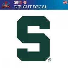 Michigan State University Spartans  Die-Cut Vinyl Decal Logo 3