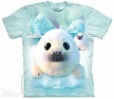 Seal Pups The Mountain Adult Size T-Shirt