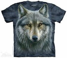 Warrior Wolf The Mountain Adult Size T-Shirt
