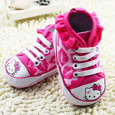 Toddler Baby Girl Rose Crib Shoes Sports shoes Size 0-6 6-12 12-18 Months