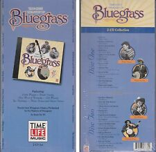 TREASURY OF BLUEGRASS Various Artists TIME LIFE Factory Sealed 2 CD LONG BOX