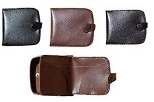 Genuine Leather Gents Square wallet Tray Purse change/Notes Change Purse Pouch