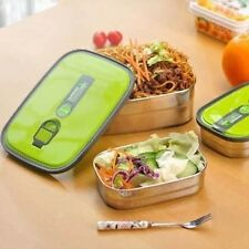 Rectangular Stainless Steel Lunch Box Bento Box Food Container