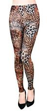 New Women's Pickyboo Fashion Leggings Printed Leopard Design S/M,L/XL PL 493