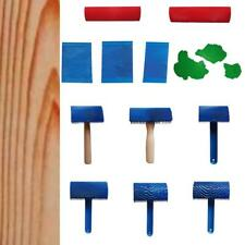 Various Wood Graining Rubber Painting Effect Tool Texture Wall Decor Machine