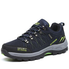 Mens Big Size Trail Hiking Shoes Wearable Shock Absorbing Sports Outdoor Shoes