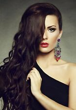 """14"""" Seamless Hair Extensions - Loose Curl - 100% Human Remi Hair Extensions"""