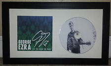GEORGE EZRA LEGENDARY VOICE SIGNED AUTOGRAPH FRAMED MATTED CD DISPLAY F