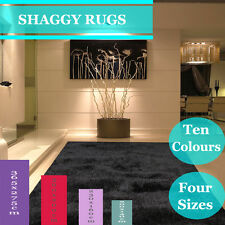 Free Delivery New Large Shag Shaggy Floor Confetti Rug Carpet Mats 230 x 160 cm