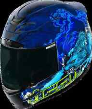 ICON AIRMADA MOTORCYCLE HELMET THRILLERBLUE XS EXTRA SMALL X-SMALL 0101-7278