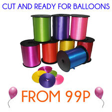 Balloon Curling Ribbon (All Colours) Ready Cut
