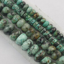 Natural Africa Turquoise Heishi Spacer/Rondelle Loose bead 15.5inch U355