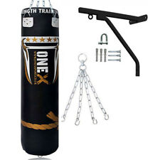 5ft Filled Heavy Punch Bag Professional Training,Filled Unfilled MMA Bags