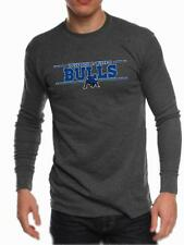 Buffalo SUNY Bulls Mens Long Sleeve Thermal Shirt Stock Bar Design