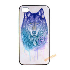 Wolf Coyote Wild Animal Hard Clear Case Cover Skin for Apple iPhone 4 4S 5 5S