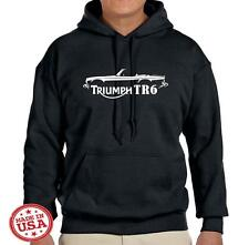 Triumph TR6 TR-6 Sports Car Classic Design Hoodie Sweatshirt FREE SHIP