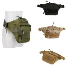 Utility Outdoor Tactical Military Fanny Pack Belt Waist Bag MOLLE Pouch Pocket