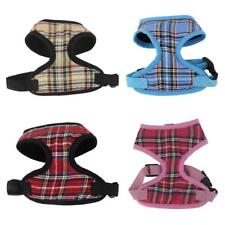 Small Cat Pet Dog Puppy Soft Mesh Fabric Adjustable Harness Lead Leash XS-XL
