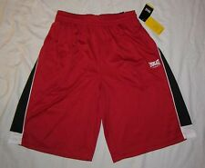 NWT Mens EVERLAST Sport Athletic Fit Silky Basketball Shorts - size M