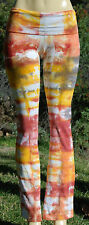 American Apparel Tie Dye Yoga Pants Form Fitting
