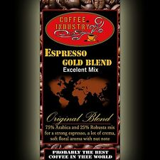 Coffee Gold Silver Espresso very strong coffee robusta arabica 80g