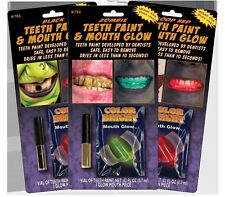 Wolfe FX Teeth Paint W/ Mouth Glow Piece - Teeth Paint Designed by Dentists USA