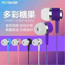 Earphones Candy Colors Headset Earpods Handsfree With Mic for iPhone 5 5S 6 Plus