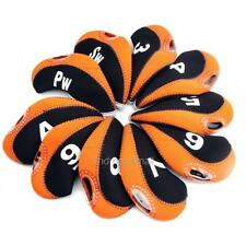 Neoprene Golf Club Iron Head Covers 10pcs for Taylormade Callaway Scotty Cameron