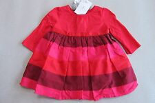 DEBENHAMS DESIGNER J CONRAN-BABY GIRLS RED DRESS-0-3/3-9/6-9/9-12 MONTHS-PARTY