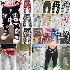 Infant Clothes Kids Baby Boys Girls Harem Long Jogger Pants Trousers PP Legging