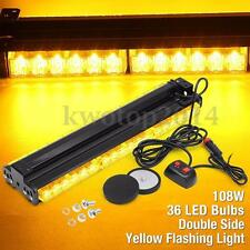 9 Types LED Car Work Light Bar Warning Emergency Car Truck Flash Strobe Lamps