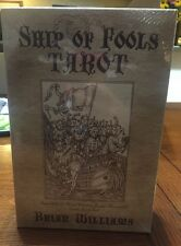 Ship Of Fools Tarot Book & Deck Set, Rare And Out Of Print, Unopened Copy.