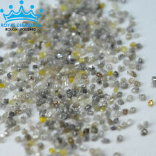 5,10 cts lots 100% Natural Real Loose Rough Diamonds raw FANCY COLORS 1.00mm USA