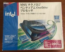 New Japanese Intel Pentium OverDrive Processor w/ MMX JBPODPMT66X200