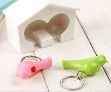 Gadget Birdhouse Home Hook Sparrow Lover Key Ring Keychain Holder 1 Pcs Wall